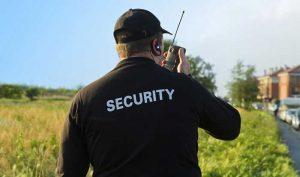 vigilanza non armata