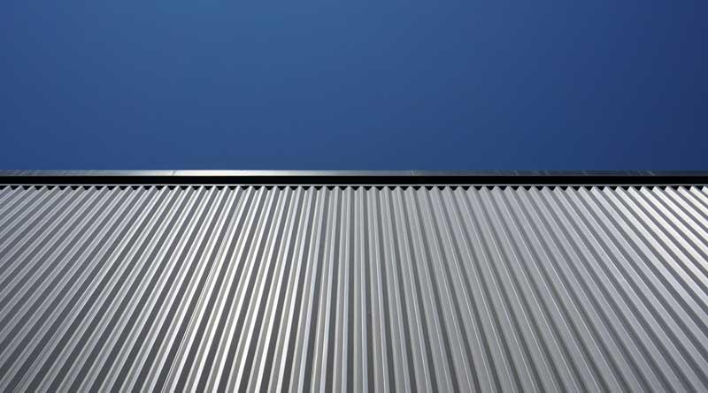 tettoie in metallo